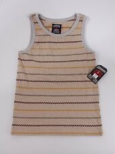 2014 NWT BOYS ELEMENT WOODSY TANK TOP $30 M clay stripes kids tshirt tee