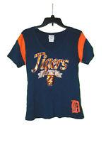 Detroit Tigers Short Sleeve Shirt XL Women