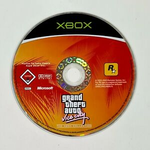 Microsoft XBOX Spiel GTA GRAND THEFT AUTO VICE CITY dt PAL Shooter/Gangster/80er