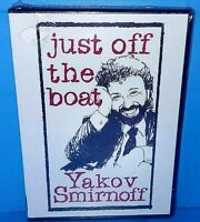 Yakov Smirnoff Just Off The Boat Russian Comedian DVD Brand New B419