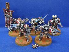 5 Grey Knight Terminatoren der Grey Knights GUT BEMALT 2