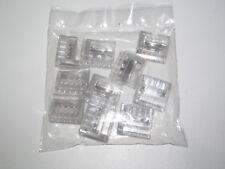 Lot x10 Raccords Bornes Eléctrique Automatique WAGO 5 Entrées Câble 1 à 2,5 mm²