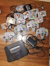 Nintendo 64 N64 Konsole 4 Controller 11 Spiele Mario Marioparty Diddy Kong Turok