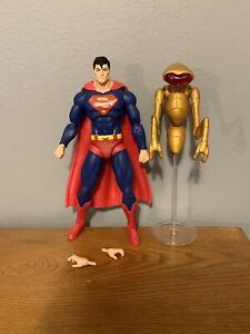 DC Icons Superman Action Figure w/ Robot Kalax DC Comics LOOSE/COMPLETE!