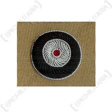Bullion Cap Cockade - Tan - WW2 Repro German Army Patch Badge Uniform Insignia