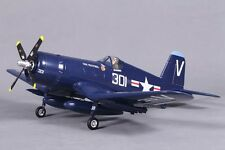 "FMS 800mm 31.5"" F4U(V2)-Blue RTF RADIO CONTROL R/C AIRPLANE V2 RC PLANE NEW NIB"
