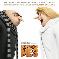 DESPICABLE ME 3 SOUNDTRACK CD (New Release June 23rd 2017)