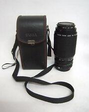 Canon Zoom Lens FD F=75-200mm f/4.5 Include Hard case –M25