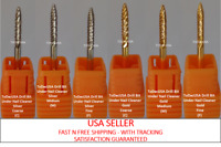 ToDacUSA CARBIDE NAIL DRILL BIT FOR PRO: UNDER NAIL CLEANER DRILL BIT