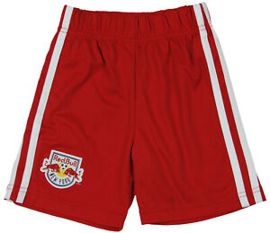 MLS Soccer Toddlers New York Red Bulls Away Shorts, Red