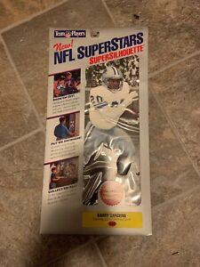 Vintage Barry Sanders NFL SuperStars Super Silhouettes Cling Detroit Lions NIP