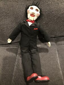 """Neca Saw 19"""" Billy The Puppet Talking Doll Jigsaw 2004 New Batteries Works Great"""