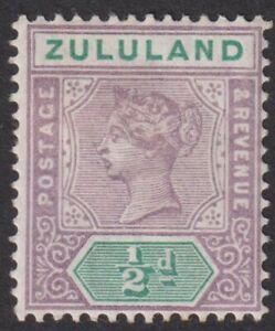 ZULULAND  1894  1/2d   M/Mint   (p113).