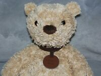 M&S BROWN SPENCER BEAR SOFT TOY MARKS AND SPENCER TEDDY COMFORTER DOUDOU