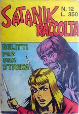 RACCOLTA SATANIK N.12 CON N.215-216-217 CORNO NOIR FUMETTO 1975