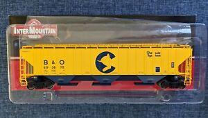 Intermountain PS 4750 Covered Hopper - Chessie System - NIB