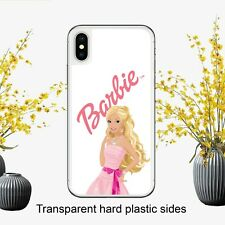 Barbie Doll Pink Writing Pretty Case Cover for iPhone Samsung Huawei Google