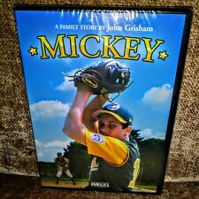 SEALED*NEW*MICKEY DVD 2005 FAMILIES FILM Story by John Grisham Harry Connick Jr
