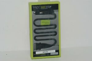 Tylt BAND Apple Car Charger with Built-In USB 2.1A - Retail Packing 30PIN BANDBK