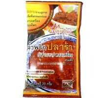 Thai Original Style Dried Fermented Fish Chili Sauce Powder Delicious Easy Cook