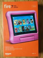 "Amazon Fire 7 Kids Edition Tablet 7"" 16 GB - 9th Gen NEW PINK"
