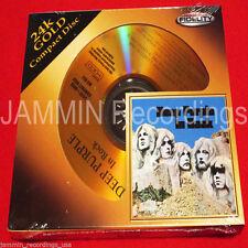 DEEP PURPLE - In Rock - 24K Gold CD - Audio Fidelity Sealed AFZ 051