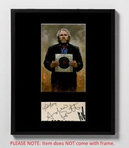 Andrew Breitbart Matted Autograph & Photo! News Founder! Conservative! Trump!