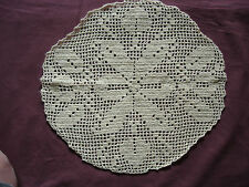 #924 Beautiful Vintage Hand Made Doily 28cm(11'')