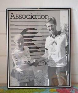 Vintage  Edwin Maher autographed photograph / print  framed TV presenter