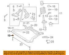 Saturn GM OEM 01-05 L300 Front Suspension-Engine Cradle Retainer 90468553