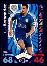 Match Attax 2016-2017 Luis Hernandez Leicester Stadt Karte Nr. 133