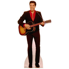 ELVIS PRESLEY Acoustic Guitar CARDBOARD CUTOUT Standee Standup Poster FREE SHIP