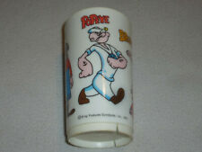 Vintage Popeye Deca Plastic King Features Syndicate 1971 Brutus Sweet Pea Olive