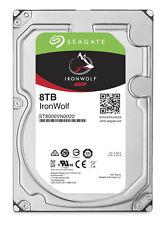 "Seagate IronWolf 8TB Internal 7200 RPM 3.5"" Hard Drive NAS - ST8000VN0022"