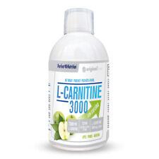 PERFECT NUTRITION - L-CARNITINE 3000 CON CAFEINA, 500 ml, MANZANA - QUEMAGRASAS