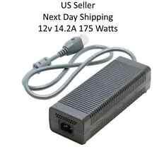 Microsoft XBOX 360 Power AC Adapter Cord Model HP-AW175EF3 LF 12v 14.2A 175W