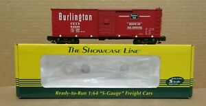 S-Helper 01019 Chicago, Burlington & Quincy Boxcar #63339 S-Gauge/Scale
