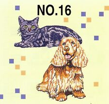 New Dog and Cat Machine Embroidery Card Brother Baby Lock PES