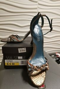 Via Spiga V-Dado Womens Sandals Shoes Size 8.5