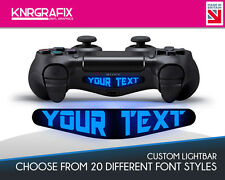 KNR1623 Custom Personalized Light Bar Dualshock 4 Lightbar Decal Sticker