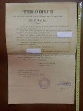 Diploma President College of Arbiters for the manufacture of leather NAPOLI 1912