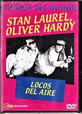 Stan Laurel y Oliver Hardy: LOCOS DEL AIRE Tarifa plana en envío dvd España, 5 €