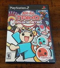 PlayStation 2 PS2 Taiko Drum Master ~ w/ Game + Box + Instructions