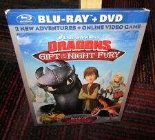 DREAMWORKS DRAGONS: GIFT OF THE NIGHT FURY/BOOK OF DRAGONS 2-DISC BLU RAY / DVD