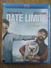 BLU-RAY * DATE LIMITE * Downey Jr Zach Galifianakis VERY BAD TRIP drole COMEDIE