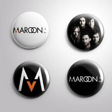 4 MAROON 5 - Pinbacks Badge Button Pin 25mm 1''
