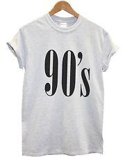 90's T camisa Top Hipster Moda Tumblr Tienda De Verano Para Hombre Para Mujer Kids