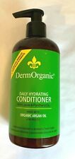 DermOrganic Conditioner 10.1oz Daily Hydrating with Argan Oil