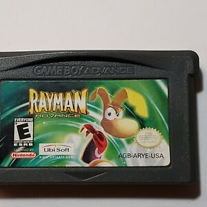 Rayman Advance [Nintendo Game Boy Advance 1st Handheld in Series Based on PS1 US
