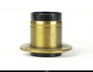 Lens Brass Zeiss E Krauss Paris Trianar 6,3/12cm 120mm